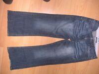 Next size 16 petite jeans, hardly worn