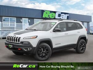 2015 Jeep Cherokee Trailhawk HEATED LEATHER | NAV | PANORAMIC...