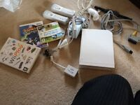 Nintendo Wii with games and more