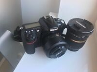 Nikon d300+ lenses