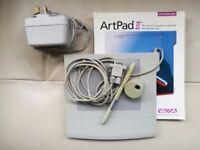 Wacom Art Pad ll graphics tablet