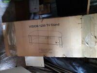 TTAP Vision 1200 mm TV Stand -black