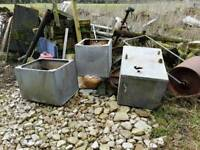 Five water troughs staring price £50 each
