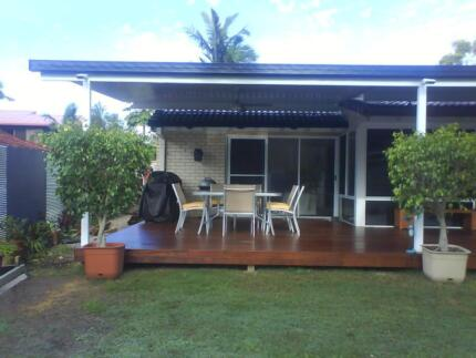 Patio and carport insulated roof panels 65 sqm durack for Garden decking gumtree