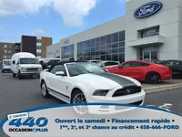 2013 Ford Mustang V6 Premium *Cuir, Exhaust, Roll Bar*