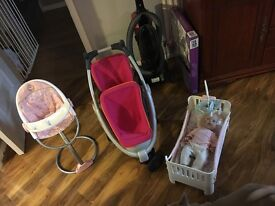 Baby doll bundle... excellent condition