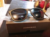 Hawkers carbono black sunglasses *Brand new * Carbon Fibre