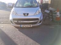 2012..PEUGEOT 107 1.0..5 DOOR..MOT AND TAXED..CHEAP TAX AND INSURANCE..QUICK SALE