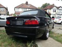BMW 330 converitible Msport. Nice car
