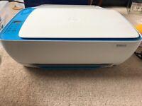 HP Deskjet WiFi printer and scanner