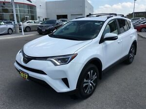 2017 Toyota RAV4 LE - Low kms, Huge savings over buying New!