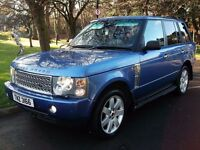 *MONTE CARLO BLUE* RANGE ROVER HSE TD6 4X4 *LOW MILES*!! BMW X5 ML Q7 73OD 530D M3 M5 DISCOVERY A6