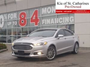 2013 Ford Fusion SE | Navigation | Leather | Sunroof