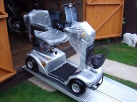 LOVELY RASCAL MOBILITY SCOOTER - 18 STONE USER - ANTI THEFT ALARM - GOOD BATTERIES - WAS £2800