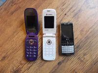 mobile phones £12 each