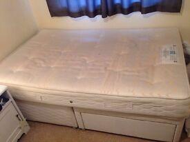 3/4 Divan Bed with storage