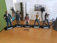 Walking dead collector toys