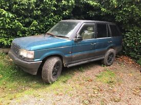 range rover p38 , automatic spare or repair. needs tlc grabber tires