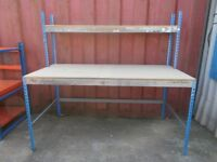 LARGE PACKING TABLE / WORK BENCH - USED GOOD CONDITION - ONLY £55!!