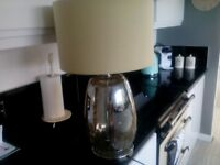 Next large glass table lamp