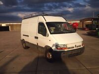 LEFT HAND DRIVE RENAULT JUMPER, DRIVES VERY WELL,ENGINE&MECHANICS GREAT,BIG LOAD SPACE.CALL