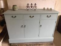 Duck egg blue dresser base