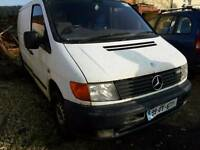 Mercedes Vito van for parts run and drive