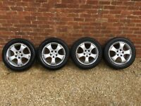 VAUXHALL VECTRA ASTRA GENUINE IRMSHER SRI GSI ALLOY WHEELS 215/55/16 £100