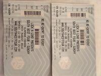 X2 SW4 - Sunday Tickets £85:00