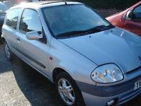 for parts renault clio sport 1.2 16v 2001 low mileage