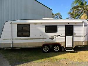 2008 21'6 RETREAT BRAMPTON FULL ENSUITE SEMI OFF ROAD CARAVAN Gympie Gympie Area Preview