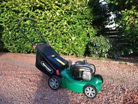 Lawnmower, Qualcast petrol 125 cc