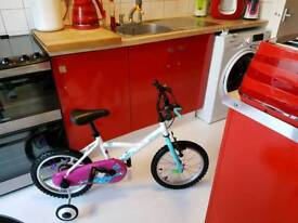 KIDS BIKE 16in btwin PRISTINE CONDITION 2 FOR SALE TWINS COLLECTION POSS DELIVER LOCAL