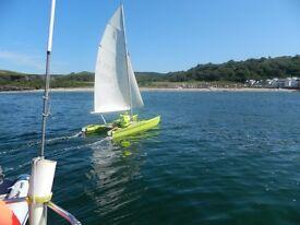 beach catamaran mattia bit tatty but works well fast fun too fast for me! £300 o n o