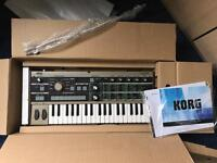 Like new micro korg synth vocoder for sale