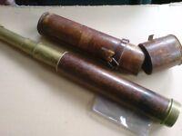 ANTIQUE TELESCOPE MADE BY SIMON PLOSSL CIRCA 1830
