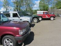 Land Rover Defender, Discovery, Series. Chassis rust protection.