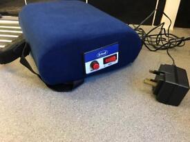 Scholl lumbar back massager support cushion