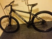 Mint condition Mens CARRERA VENGENCE mountain bike