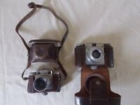 Paxina 29 and Super Paxette Cameras