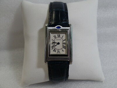Cartier Reverso Basculante Ladies Stainless Steel