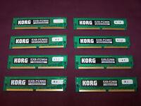 KORG EXB-PCM Sound Boards for KORG Triton Clasic , KORG Triton Studio.