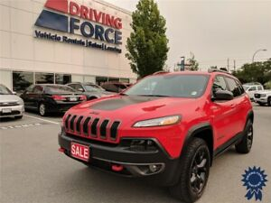 2017 Jeep Cherokee Trailhawk 5 Passenger 4X4, Remote Start
