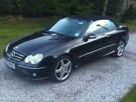 Mercedes CLK200K Sport AMG Convertible Auto 2009/09 Beautiful Leather Parktronic Cabriolet