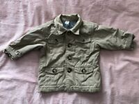 £2. BABY GAP jacket. Age 6-12 months.