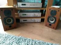 Acoustic solution hi fi system dab