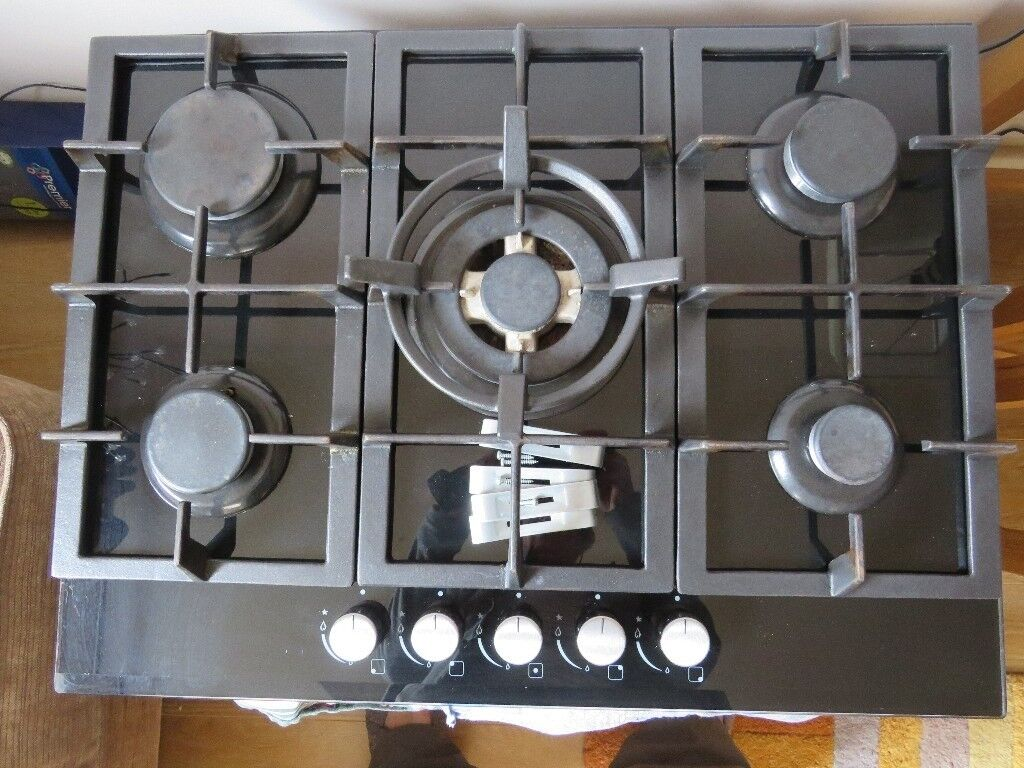 5 Burner Gas Hob In Very Good Condition In Worcester Worcestershire Gumtree