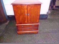 Folding door Tv Cabinet Shabby Chic Project Delivery Available £10