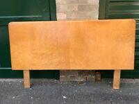 Maple veneer headboard for bed