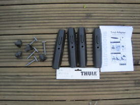Thule T Track Nut Adapters 697-4 697400 universal fit (I've been using them on Whispbar roof bars)